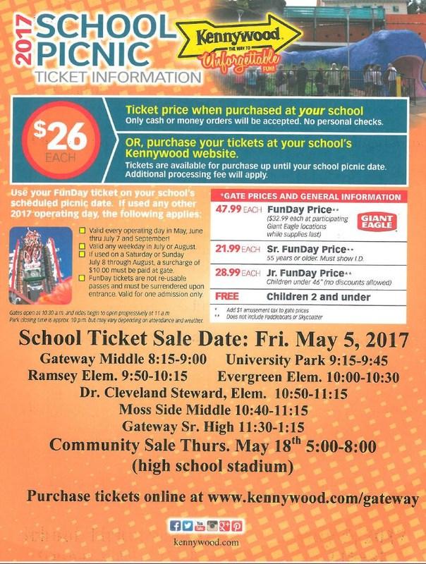 Kennywood Ticket Sales Information Thumbnail Image