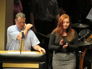 Earning the John Philip Sousa Awards in concert band was Alexis Watson and from symphonic band.