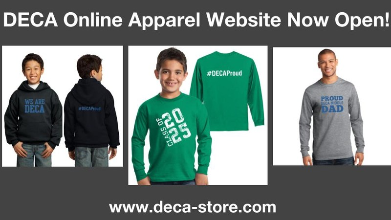 Order Your DECA Spirit Wear Today! Thumbnail Image