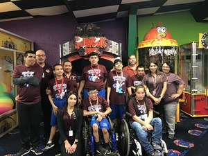 Pictured are MCISD athletes at the Special Olympics Bowling Tournament.