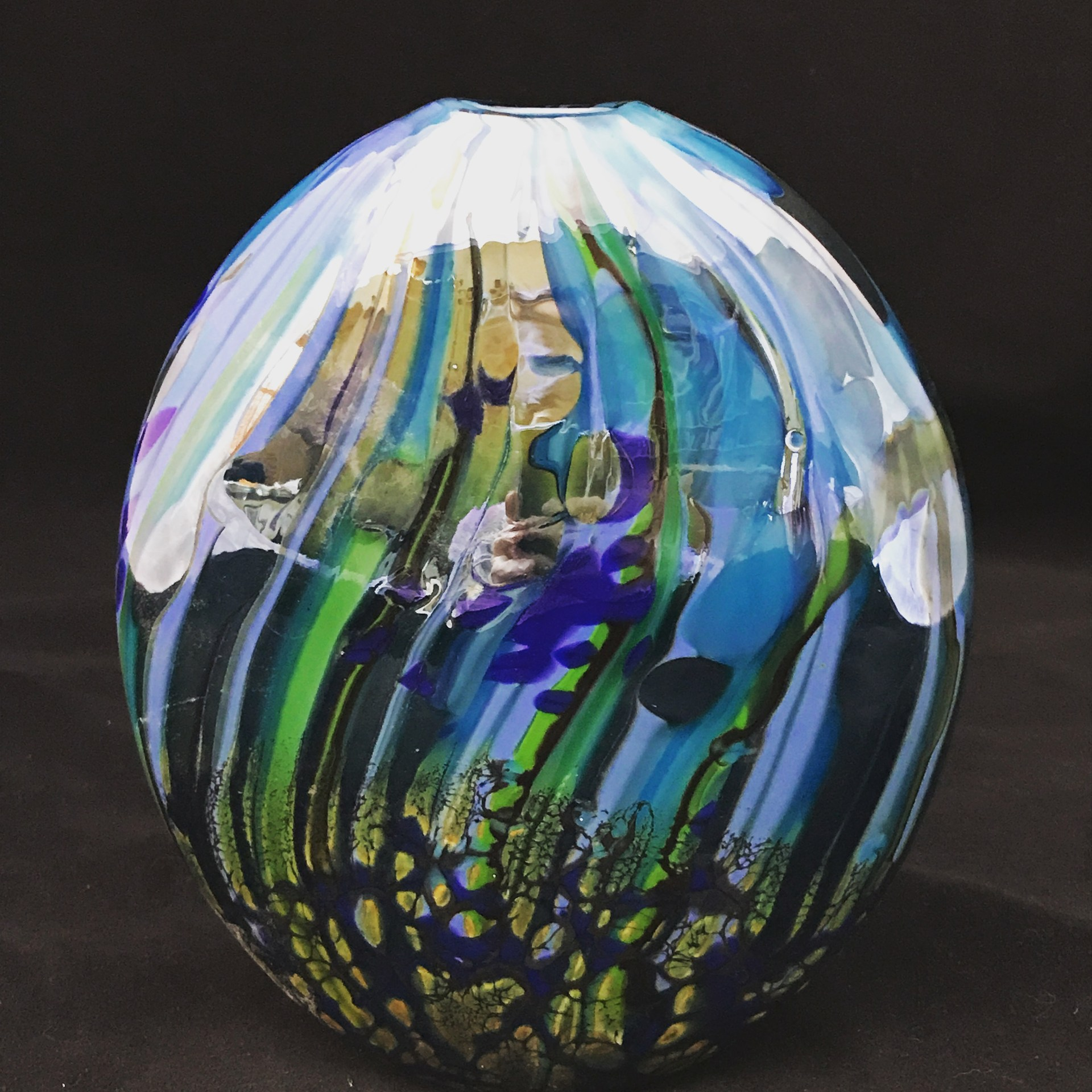 Glass work Benjamin graduate Kelly Howard