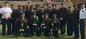 Franklin High JROTC Drill Team