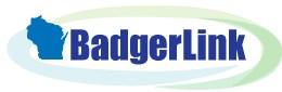 Logo and link to badgerlink