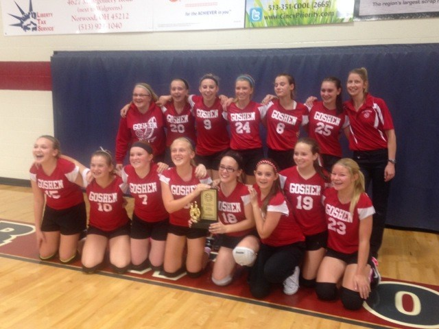 2014-2015 8th grade girls volleyball champs