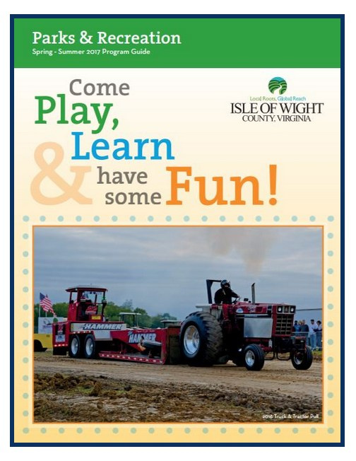 Isle of Wight county parks and rec program catalog