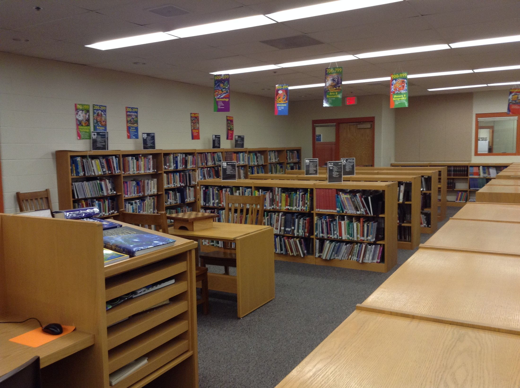 Inside the LMS library