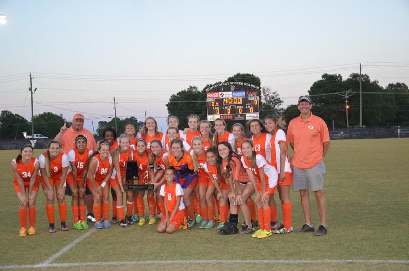 Girls Soccer Teams Wins 5th State Championship! Thumbnail Image