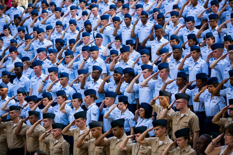 Interested in Attending a Service Academy? Thumbnail Image