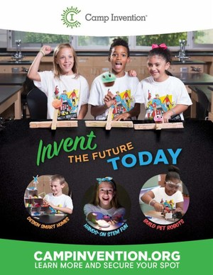 camp invention flyer