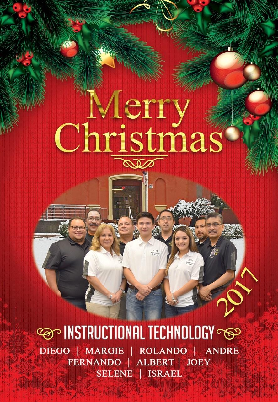 IT Christmas Card Image