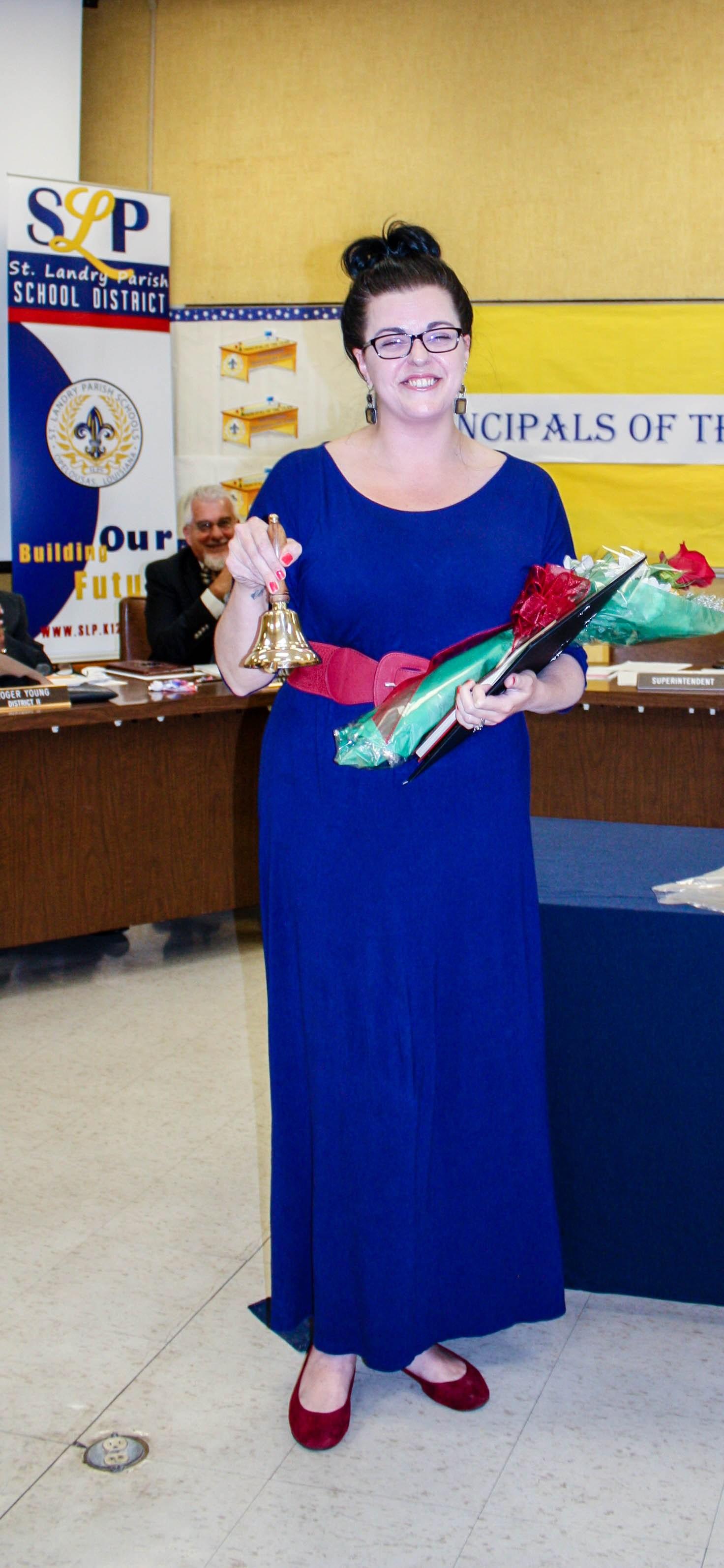 High School Teacher of the Year Kayla Powell