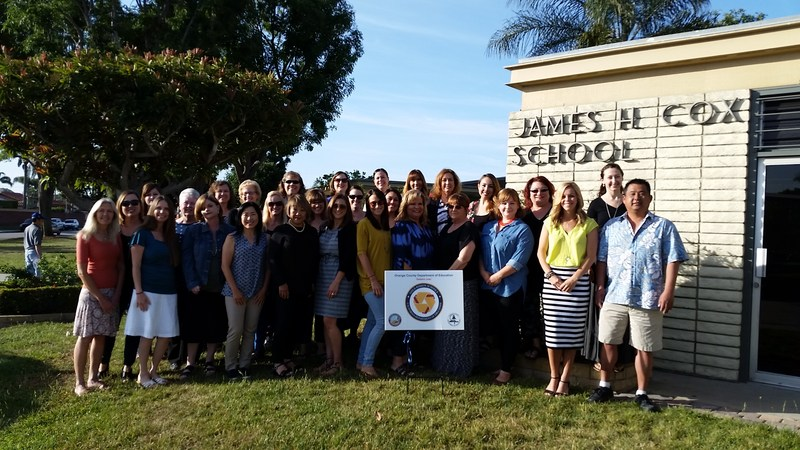 JAMES H. COX A GOLD RIBBON SCHOOL!!! Featured Photo