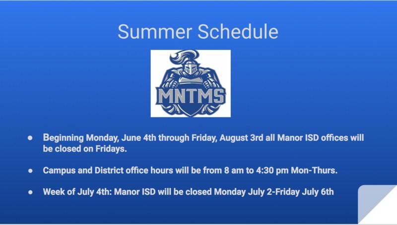 Summer Hours! Summer Hours!  Summer Hours! Thumbnail Image