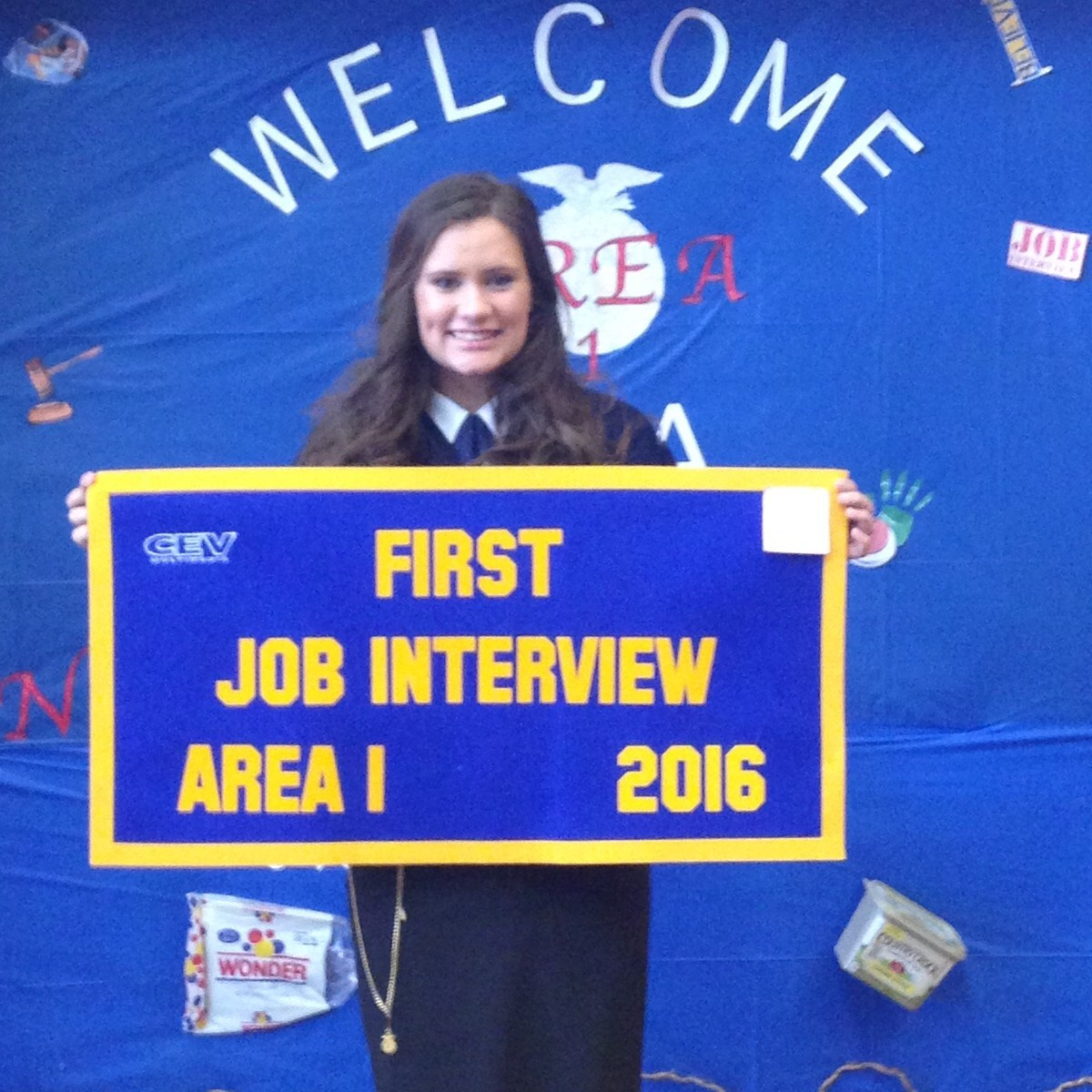 abernathy high school akers places 1st in job interview