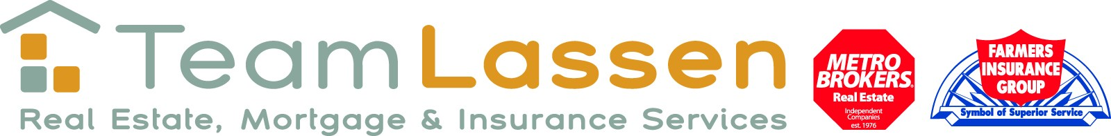 Team Lassen - Metro Brokers Logo