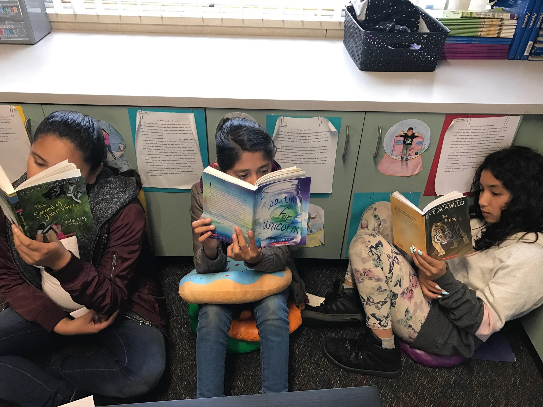 #kidsarereading