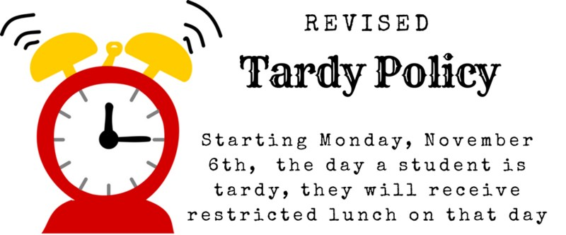 New Tardy Policy Thumbnail Image