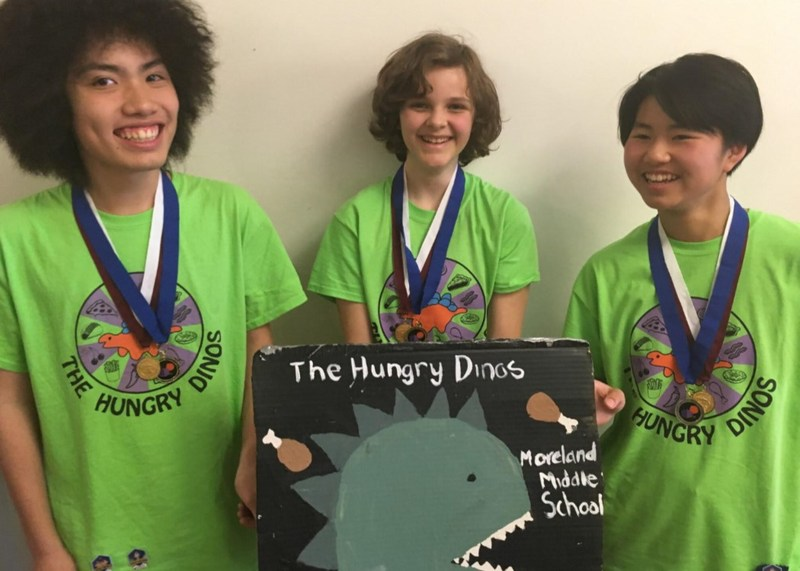 Moreland Team Advances to Global STEAM Competition Thumbnail Image