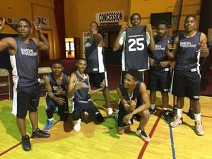 Invictus High School Basketball Team Photo