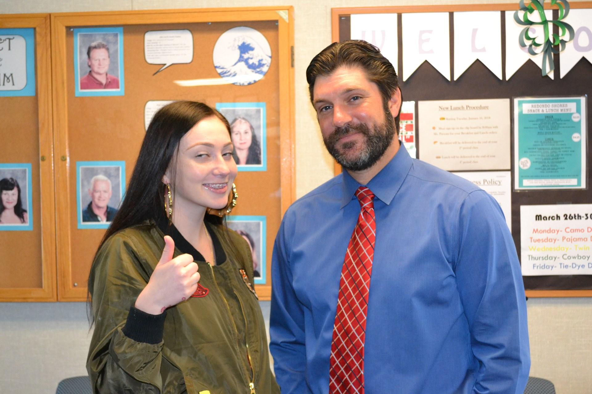 Principal, Counselor, Student
