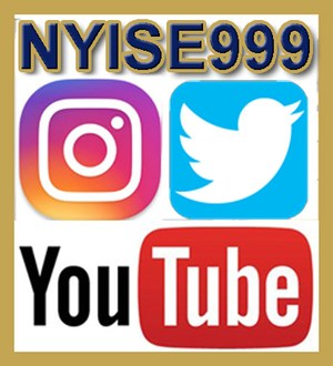 Follow us using NYISE999 on Instagram, Twitter and YouTube