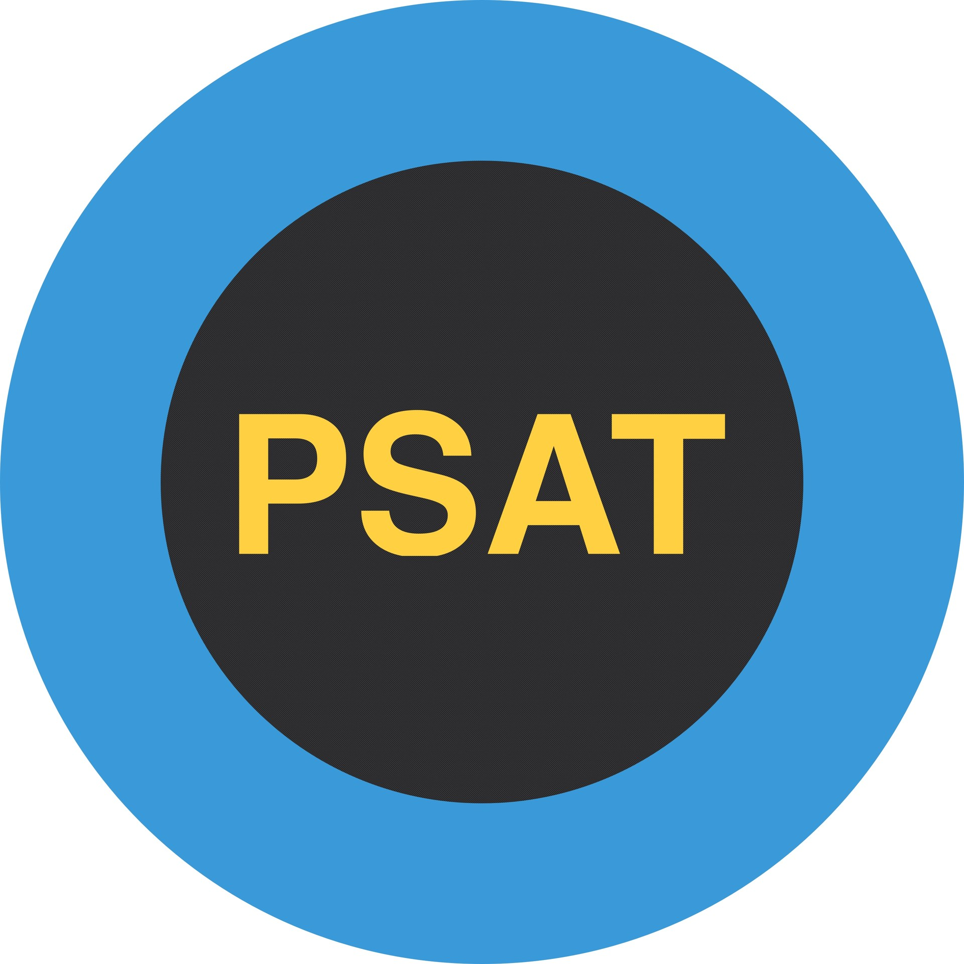 Graphic of word PSAT