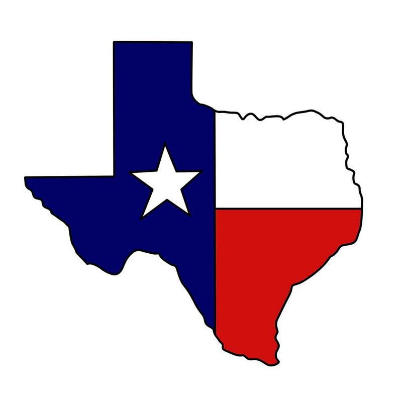 Clip Art of state of Texas