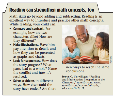 Reading Can Strengthen Math Concepts