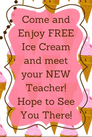 Incoming K-4th grade Ice Cream Socials and Meet Your Teacher Nights Featured Photo