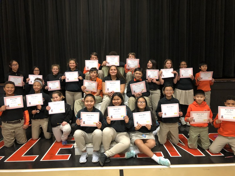 2nd Nine Weeks Honor Roll and Perfect Attendance Ceremony Thumbnail Image