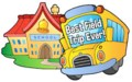 school and bus picture saying best field trip