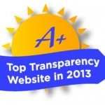 2013 Sunny Award for Top Transparency
