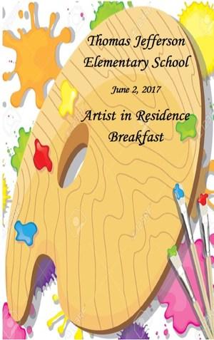 Art in residence flyer