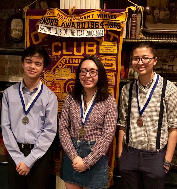 Downtown Magnets swept the JAO Optimist Club's Essay competition Featured Photo