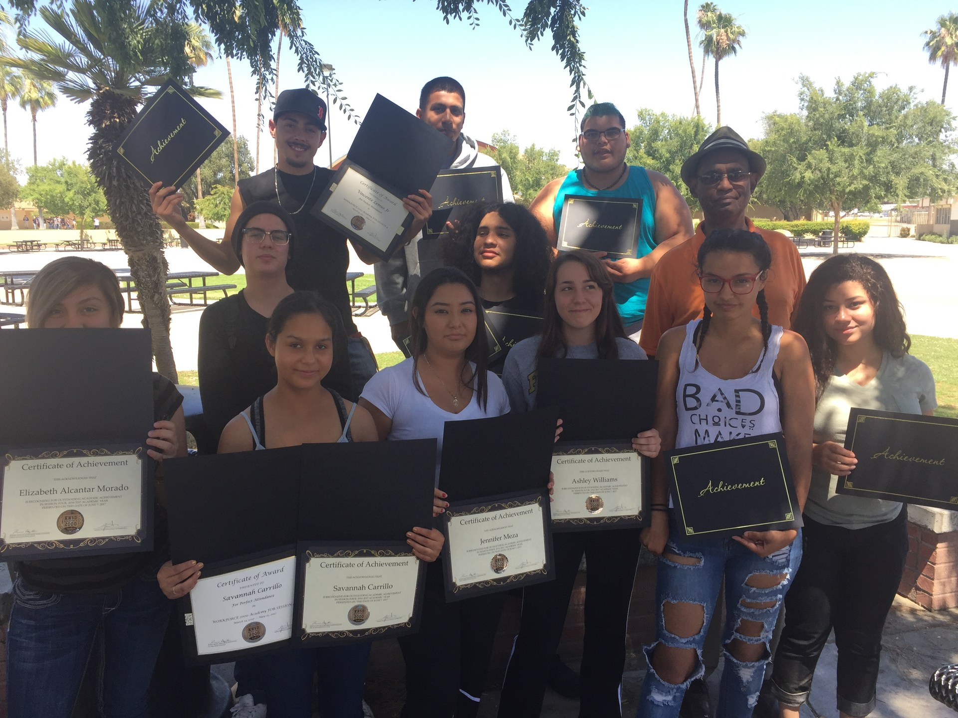 HONOR ROLL SESSION 4 2016-17 FOOTHILL