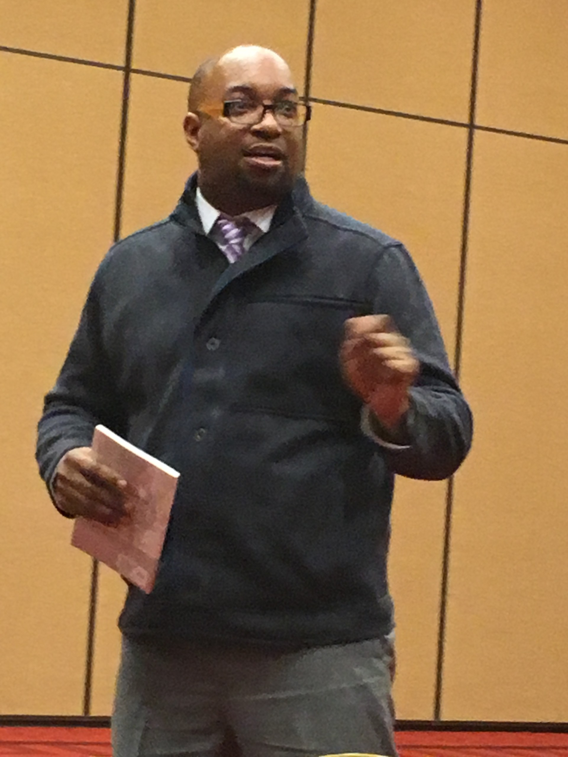 Author Kwame Alexander 2016 TRA Conference