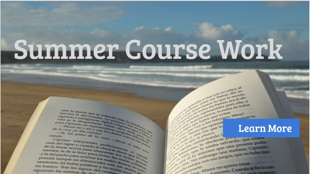 Summer Course Work 2018-2019