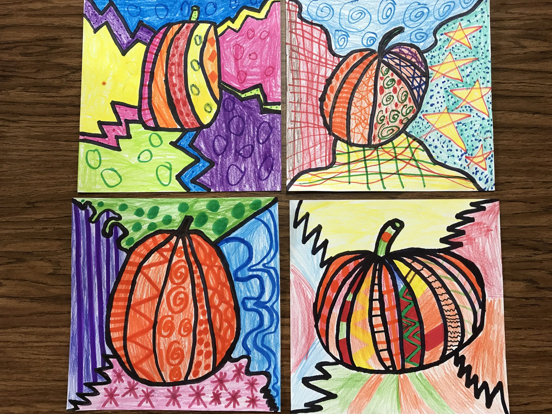 Pumpkin Pop Art