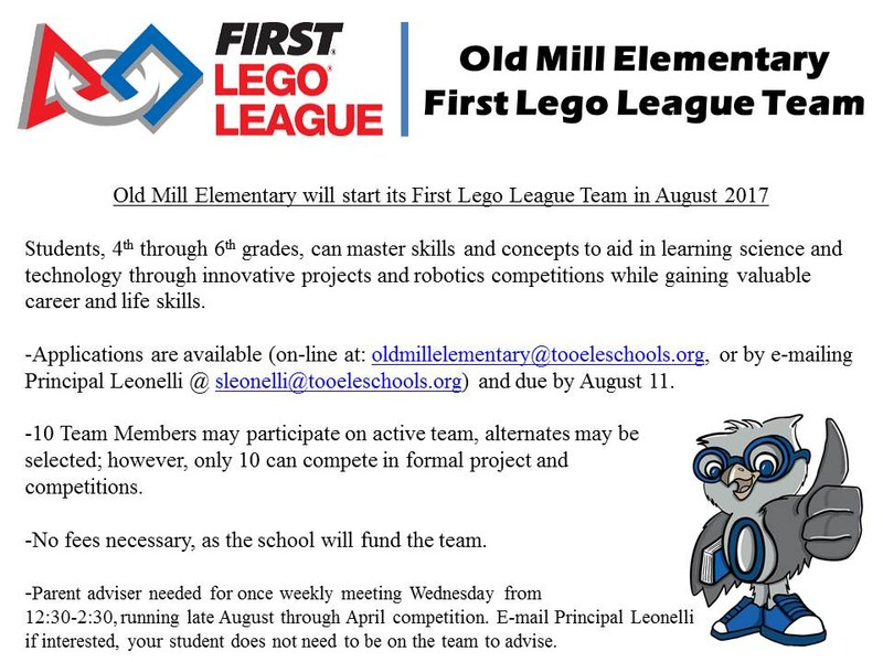 Old Mill First Lego League Team Thumbnail Image