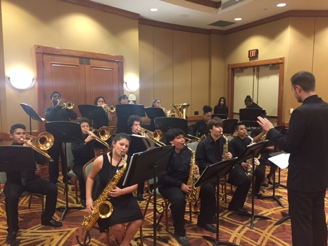 DMS Band Performs at Texas Caucus of Black School Board Members Banquet Thumbnail Image
