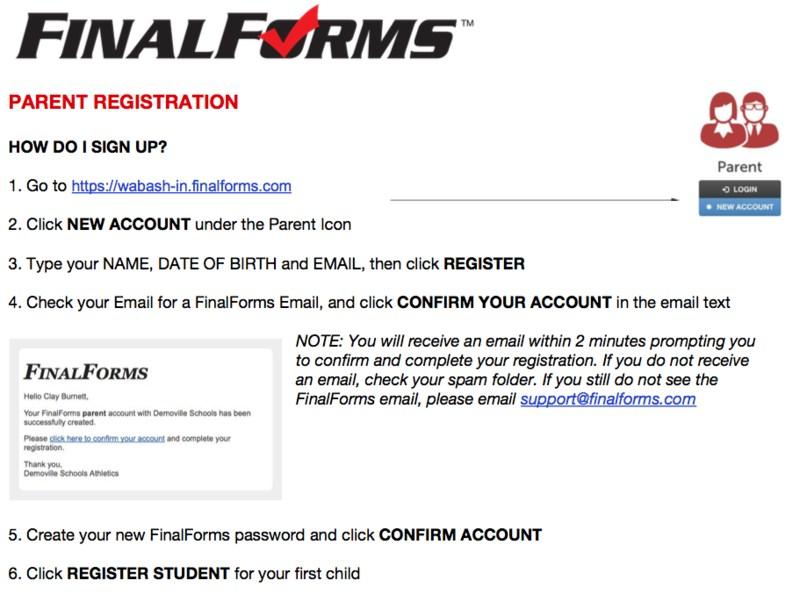 Parent Registration