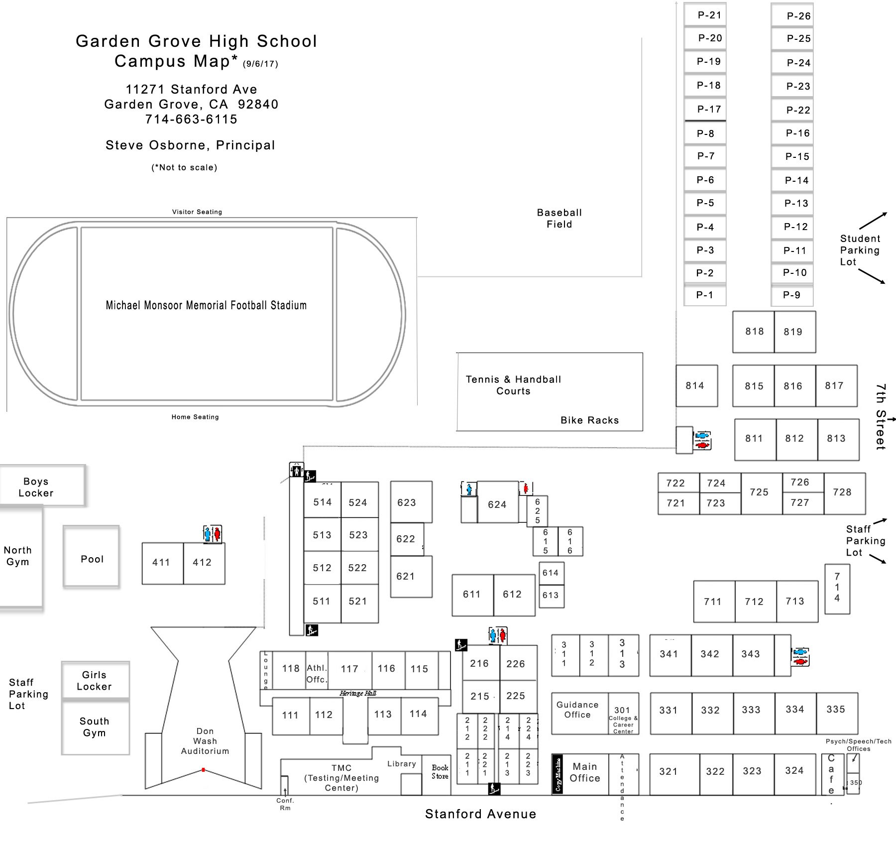 Campus Map About Us Garden Grove High School