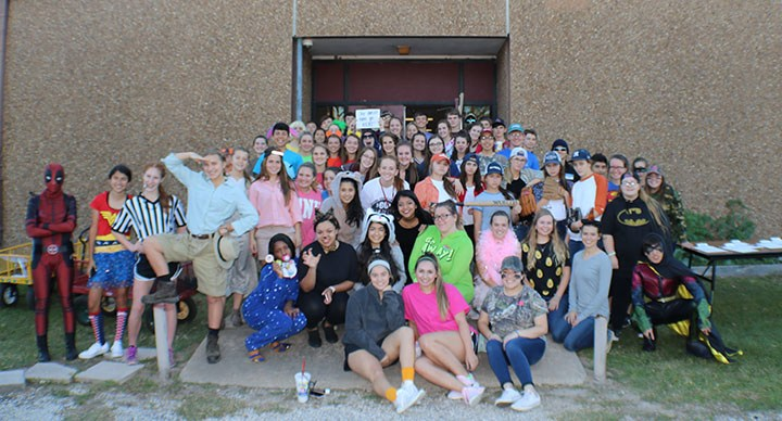 EBHS FBLA Trick or Treat for Can Goods Collects 600 Items Thumbnail Image