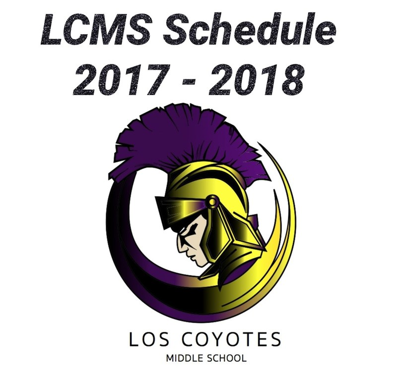 LCMS Schedule Featured Photo