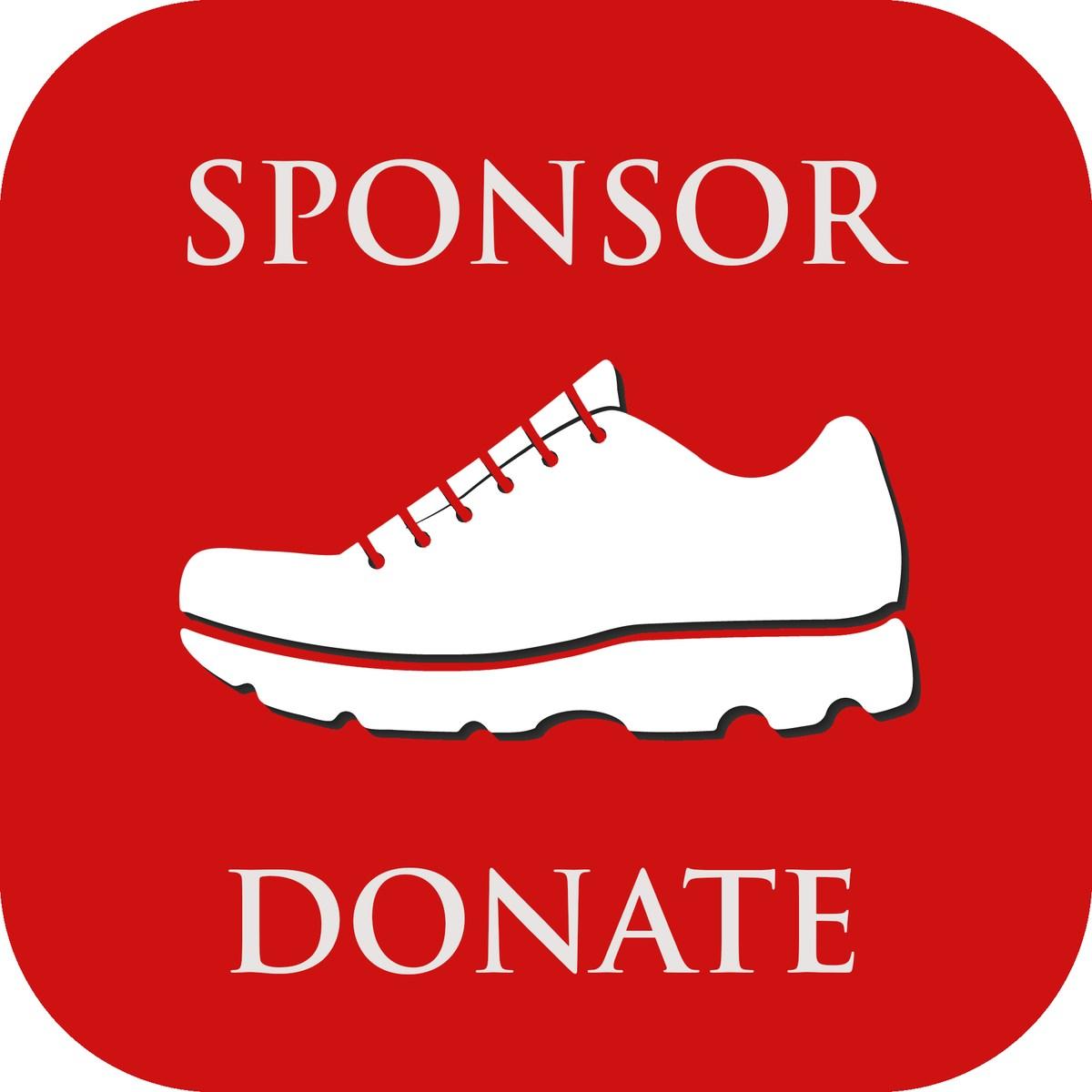 5k sponsor button