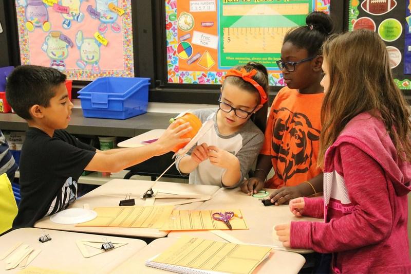 NE students use STEM skills to launch pumpkins Thumbnail Image