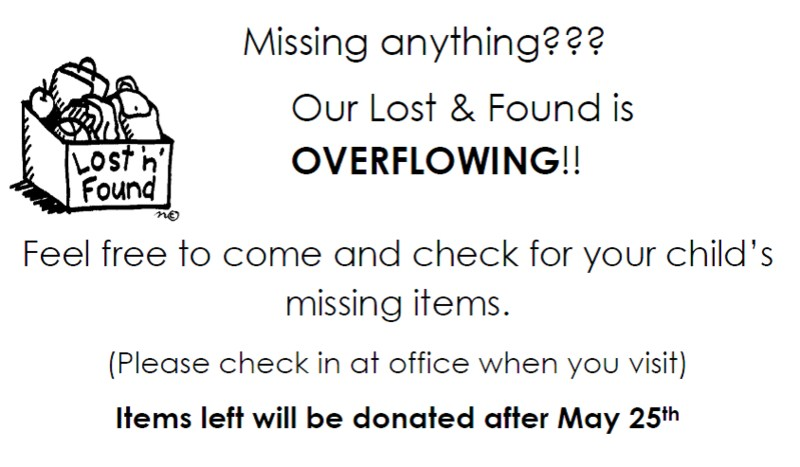 Please check the Lost & Found Thumbnail Image