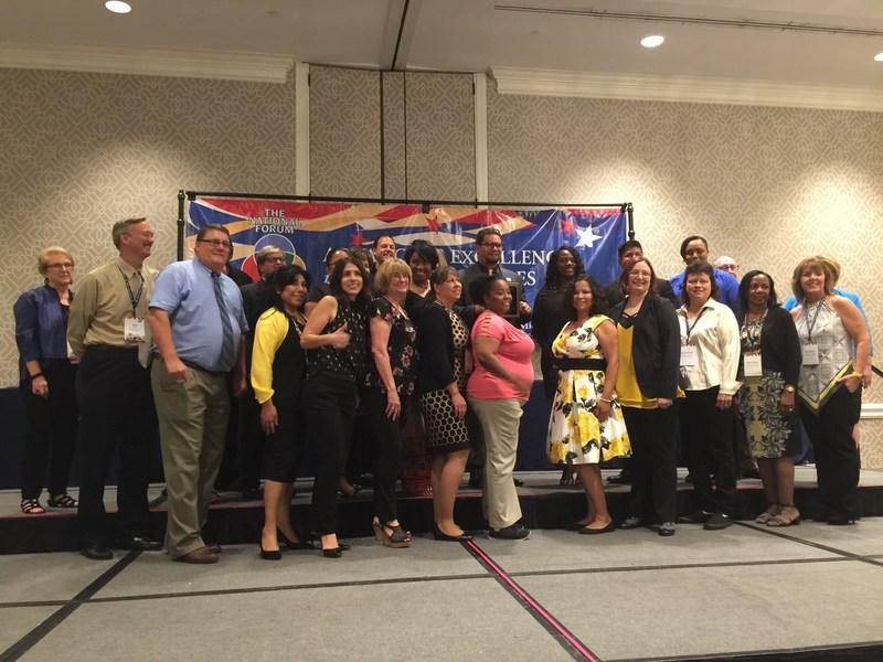 Landmark Staff being honored