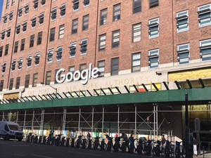NYC Google Building fascade