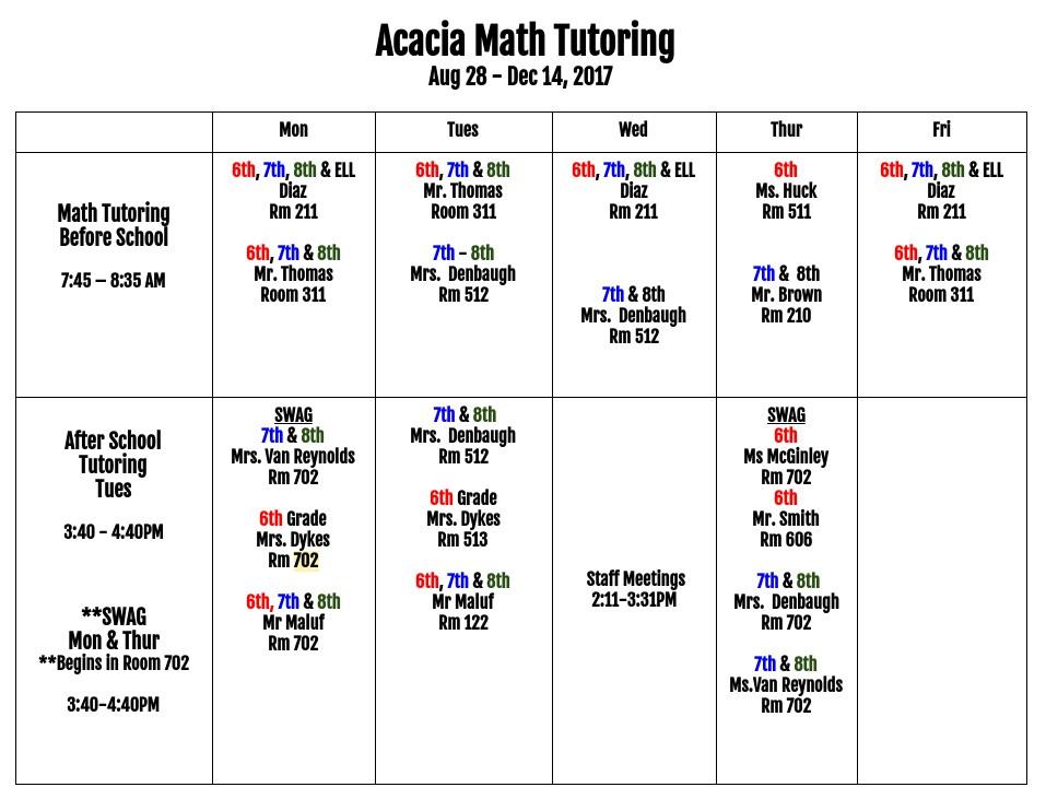Acacia Middle School